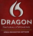 logo of the Dragon speech-recognition software
