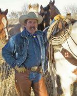 Geff Dawson, cowboy poet.