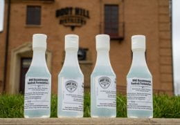 Boot Hill Distillery hand cleansers