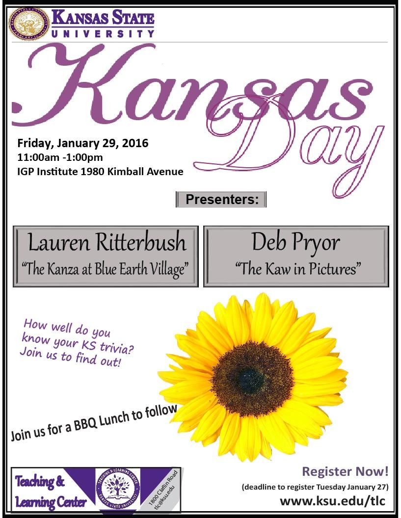 Kansas Day 2016