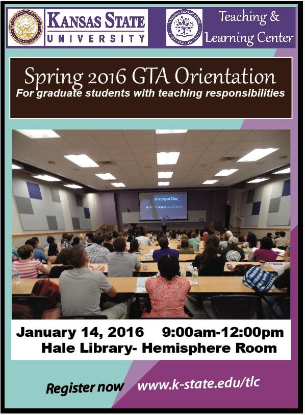 Spring 2016 Orientation
