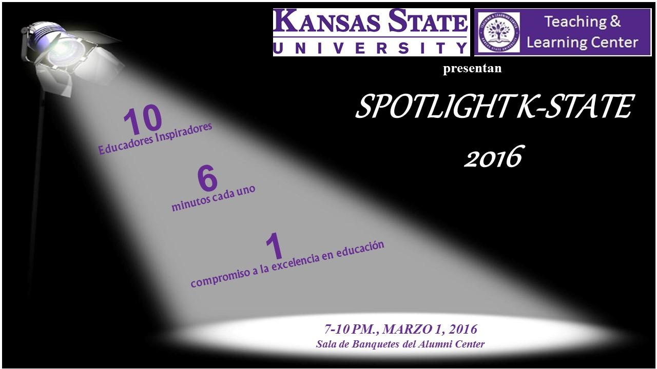 Spotlight Spanish flyer