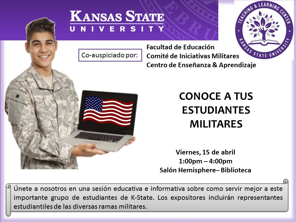 flyer military Spanish