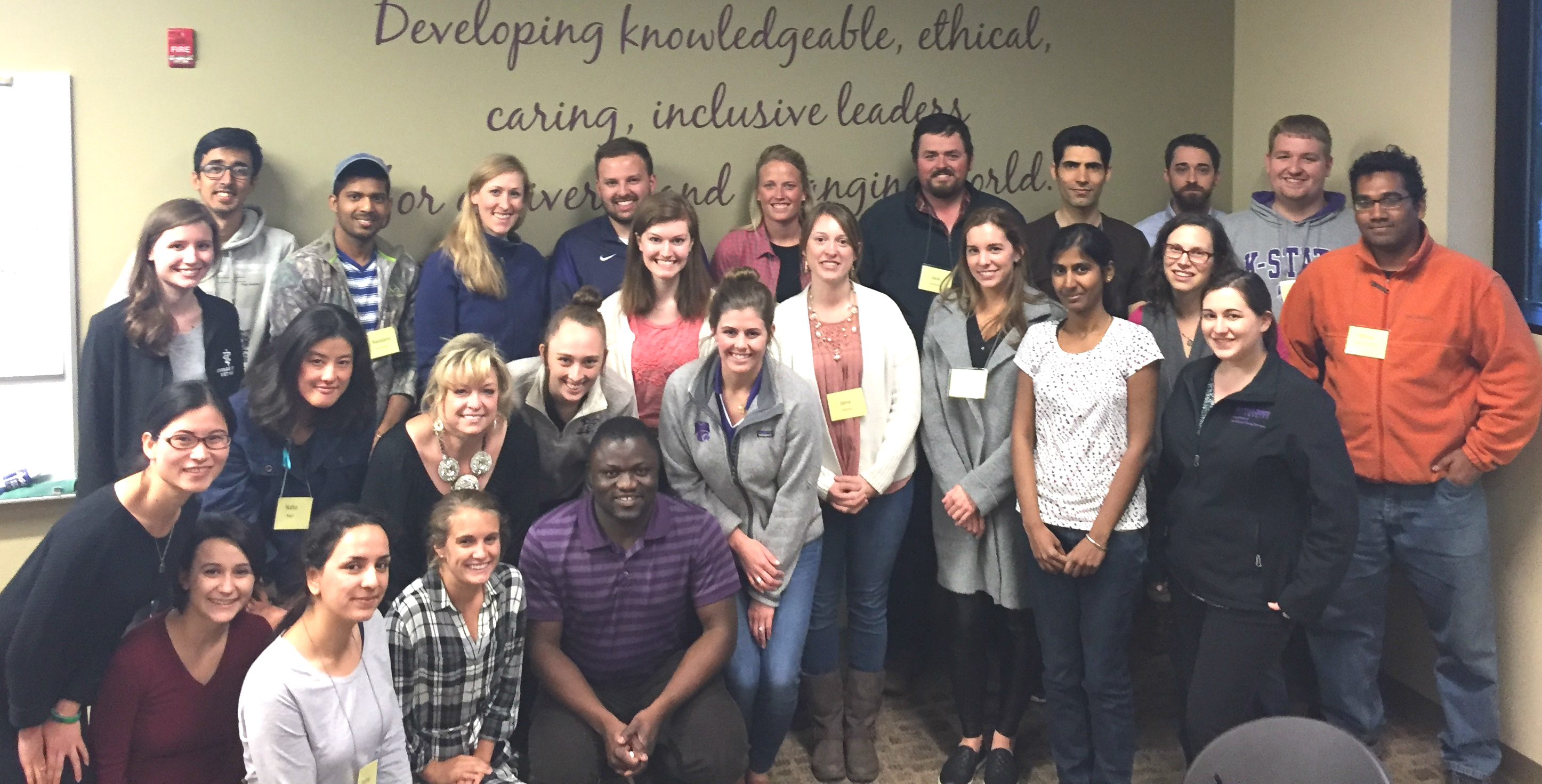 2017 grad student leadership development program participants