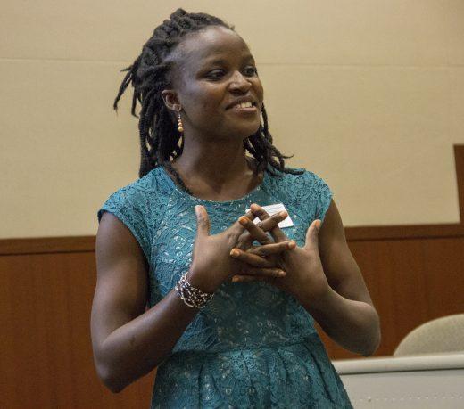 Fola presents her Ignite Talk