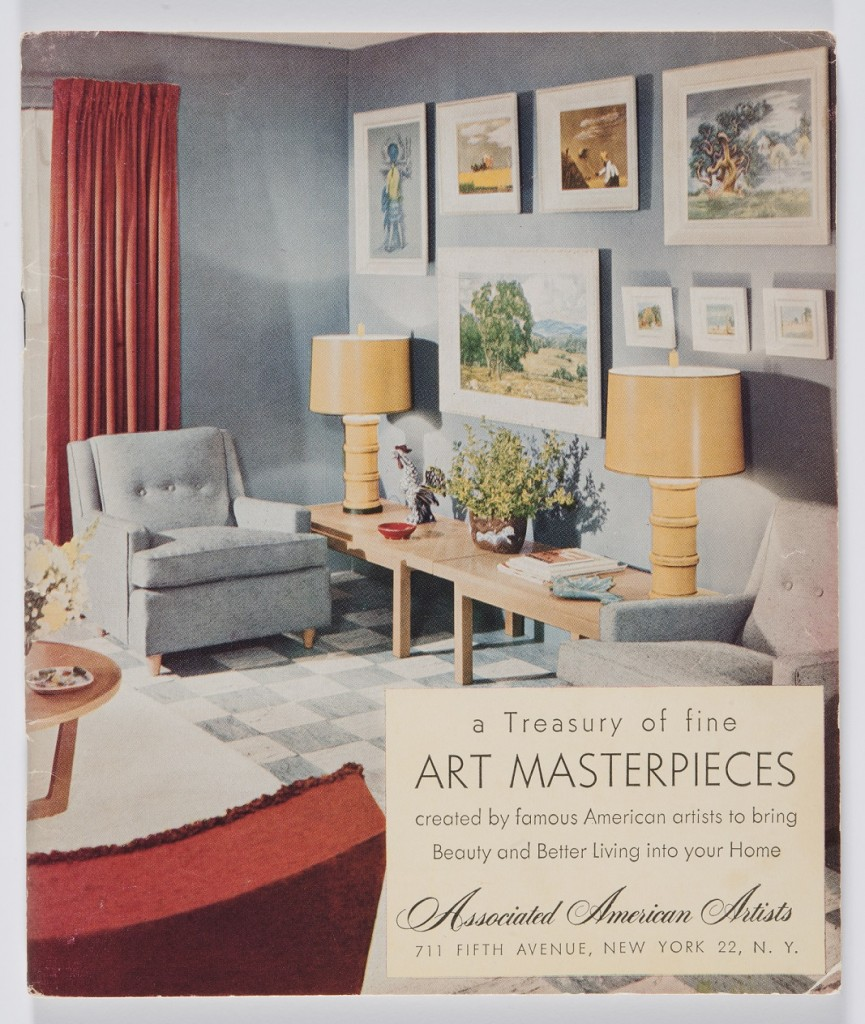 A Treasury of Fine Art Masterpieces Created by Famous American Artists to Bring Beauty and Better Living into Your Home (New York: Associated American Artists, 1951) Private collection