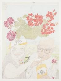 Elizabeth Layton Geraniums, 1985