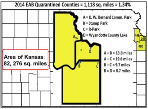 2014 EAB quarantined counties