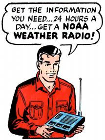 Mark Trail champions NOAA weather radio