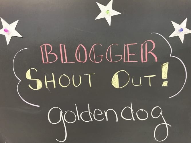 Blogger Shout Out!