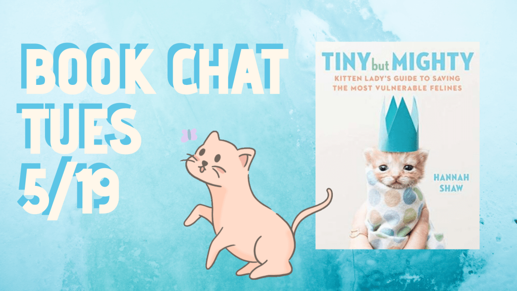 Book Chat Tuesday May 19 2020