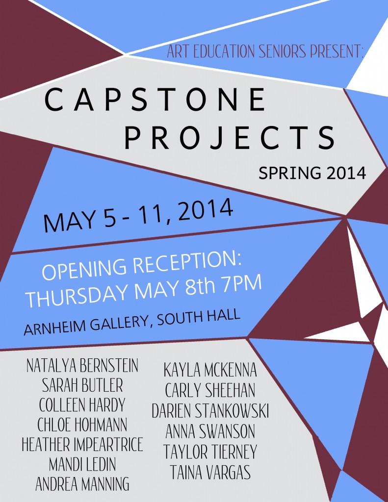 Capstone Show May 2014
