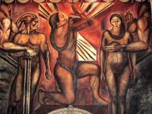 Orozco_Mural_Omniciencia_1925_Azulejos
