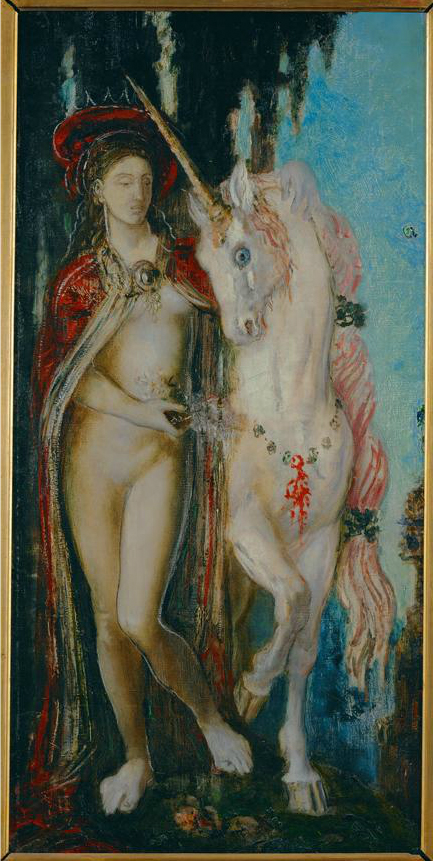 The Unicorn by Gustave Moreau