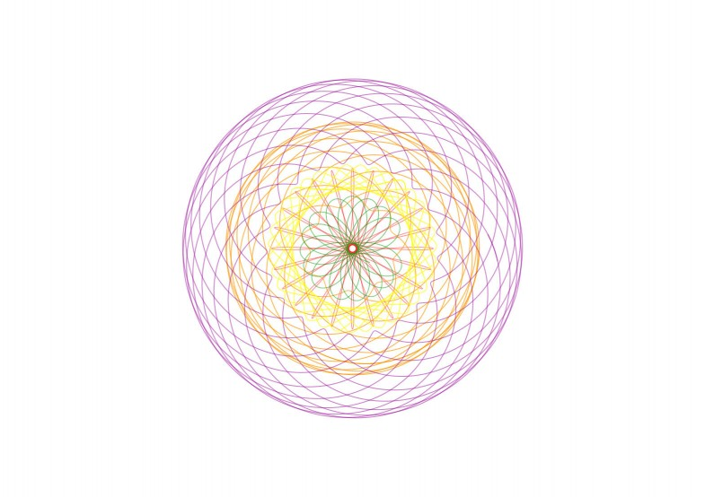 spirograph doodle