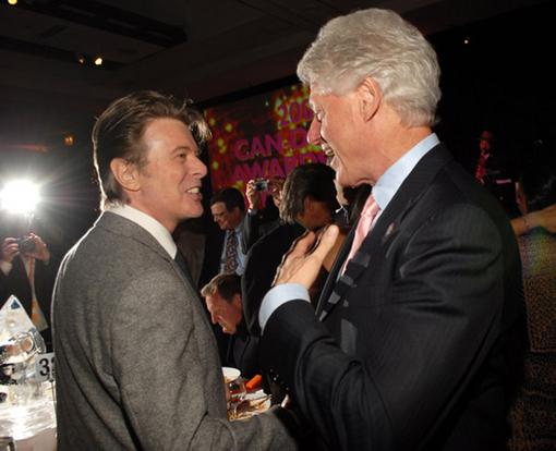 David Bowie, Bill Clinton