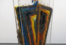 Oil Color on Pine, Plastic and Steel, Steel 4 x 2 x 1 ft 2011