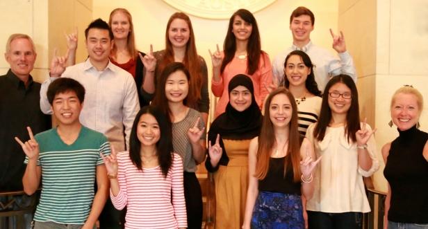 Holbrook Scholars 2014-15