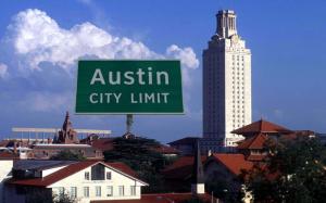 Austin city limit and UT