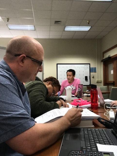 Sam Henderson Student Profile studying