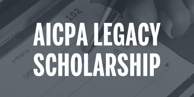 AICPA Legacy Scholarship