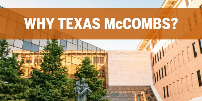 Why Texas McCombs