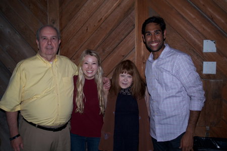 Will and Beverly O'Hara with co-chairs Morgan Lundy and Neal Makkar.