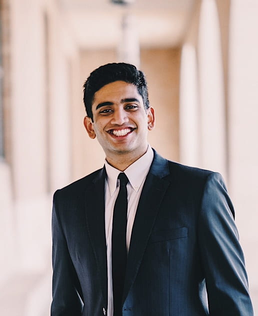 Nihar Tatapudi posing for a professional headshot