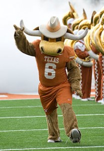 University Of Texas Mascot >> Football Live And Learn