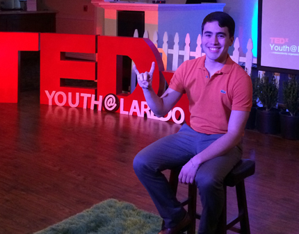 Changing the World TEDxYouthLaredo talk