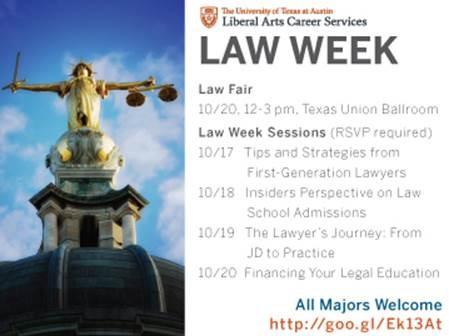 UT Law Week 2016 | MPA Weekly