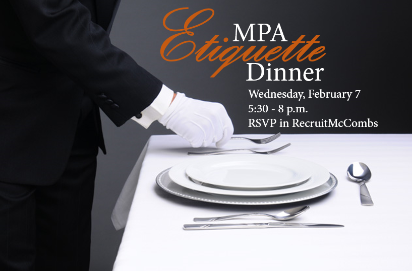 Mpa Etiquette Dinner Spring 2018 Mpa Weekly