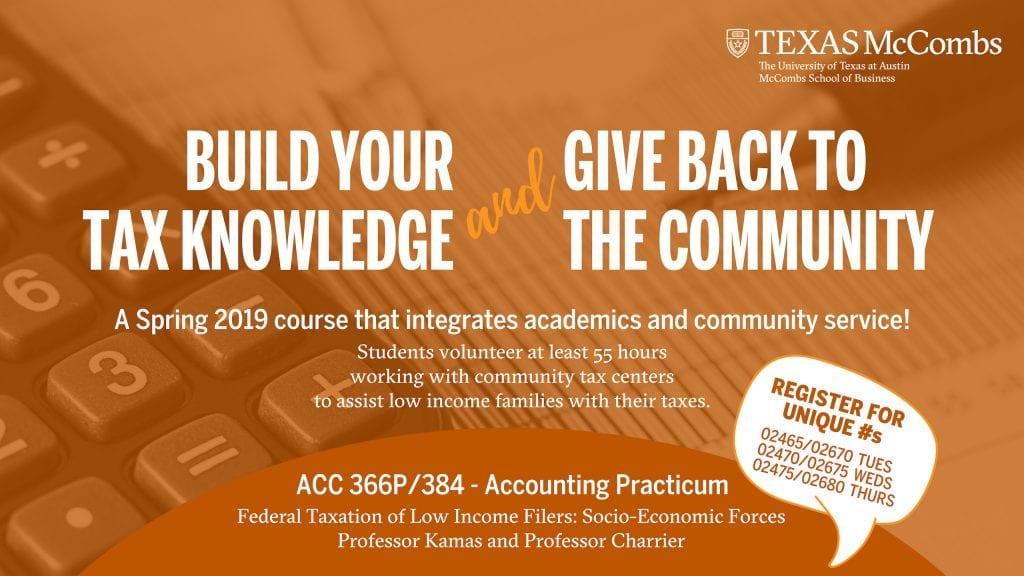 Tax Practicum Spring 2019