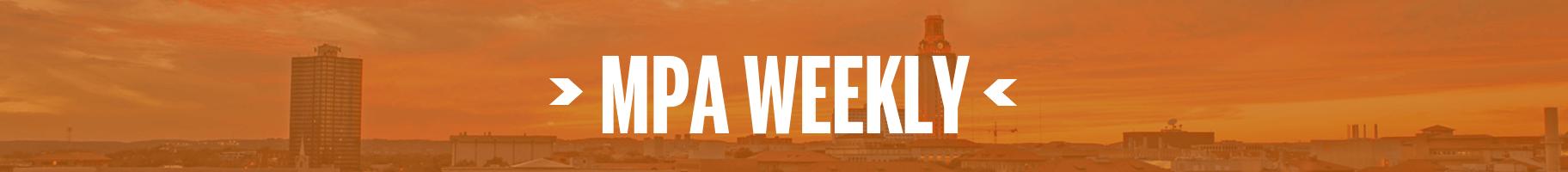 MPA Weekly