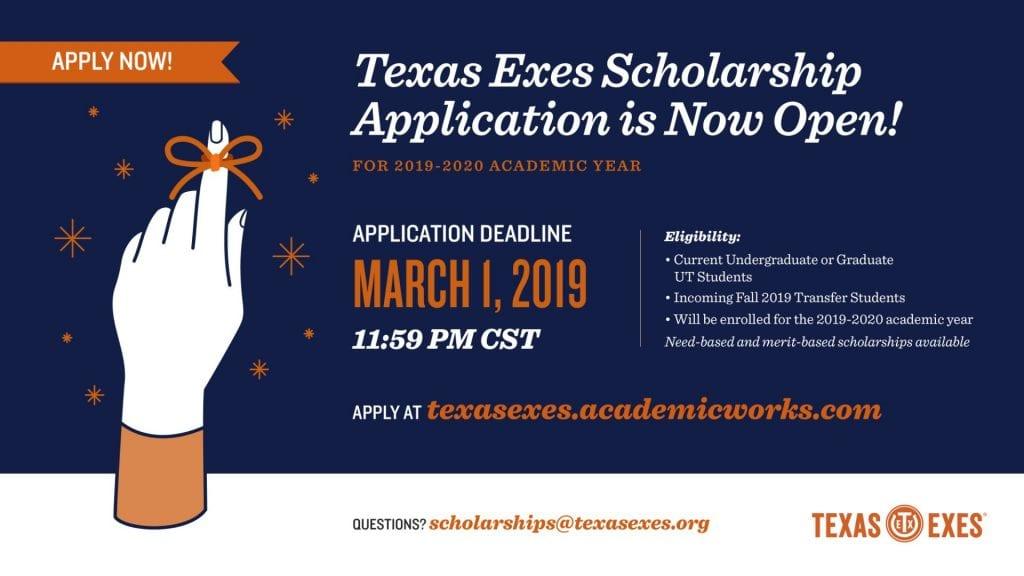 Texas Exes Scholarships