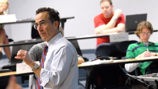Dr. Michael Granof teaching at the McCombs School of Business