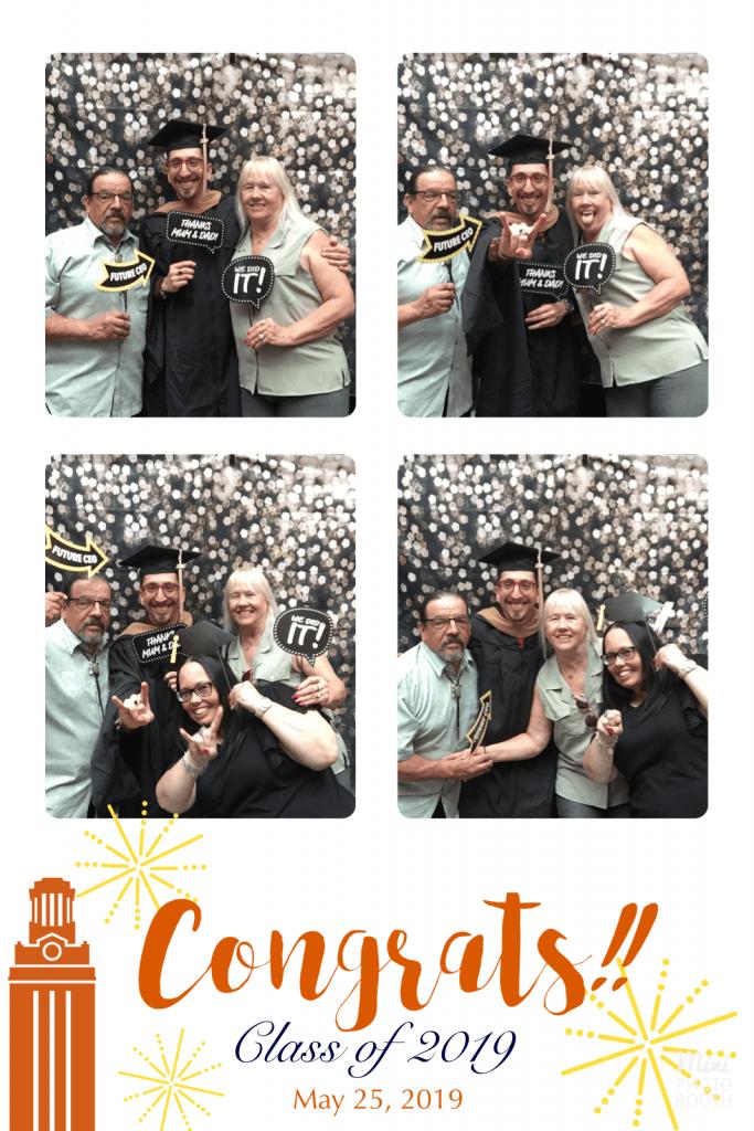MPA graduation photobooth