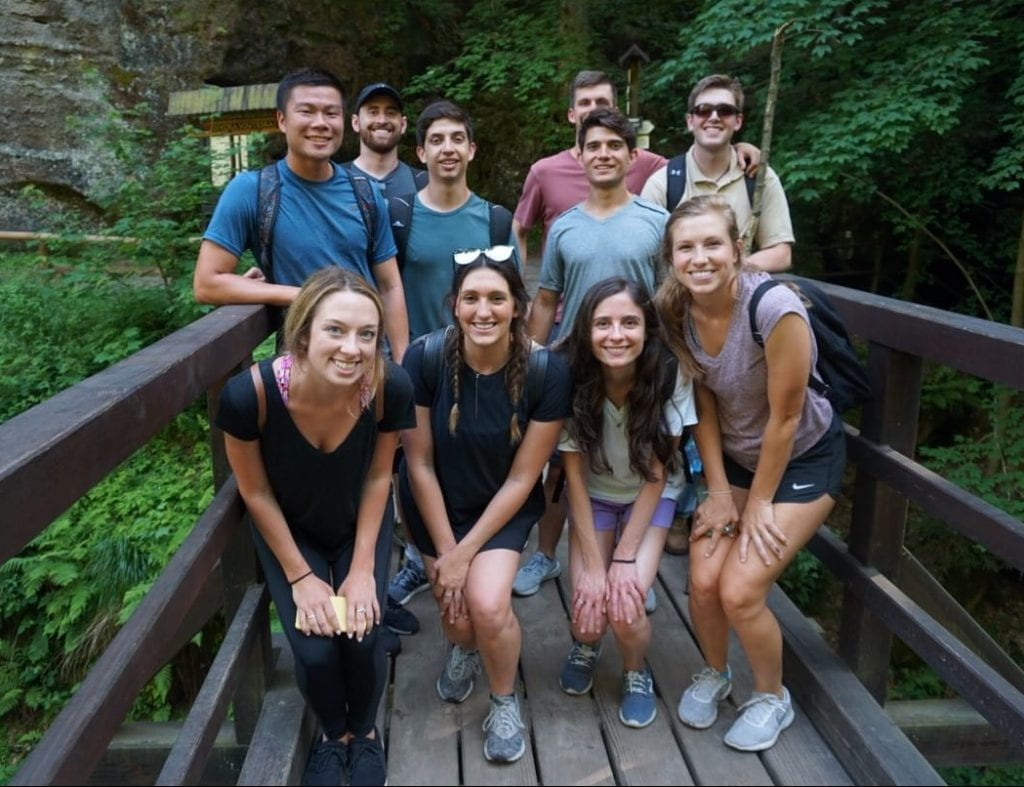 MPA students study abroad in Prague