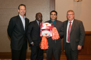 Global Venture Labs first runners-up and Texas MSTC team, Beyonic.