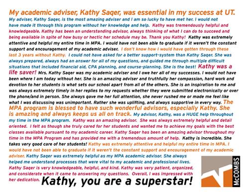 Kathy Saqer Retirement