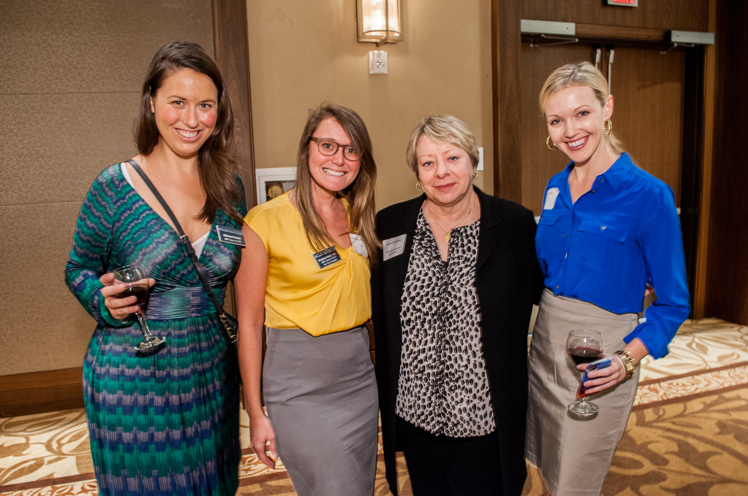 Texas MBA Students at Powerful Austin Women Networking Event