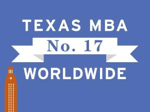 Texas MBA No. 17 Worldwide