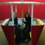 With Texas MBA alumna Casey Andrews during Rackspace tour.