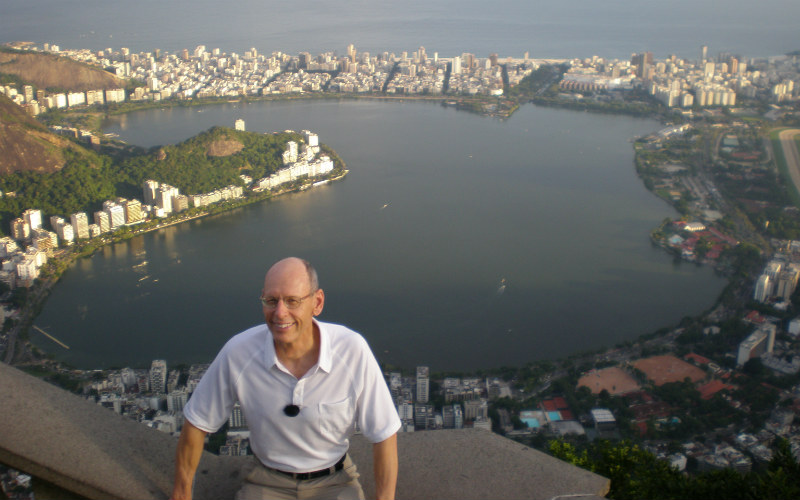 McCombs Faculty Member Stephen Limberg During A Global Trip