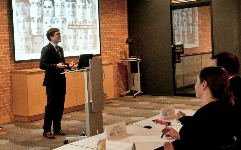 Finalist Pitches At Texas Venture Labs Scholarship Competition