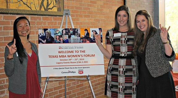 Texas MBA Women's Forum 2014 Co-Chairs
