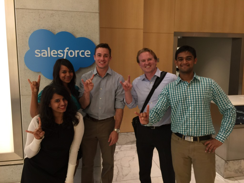 Spring 2015 Projects - Salesforce - Team Picture