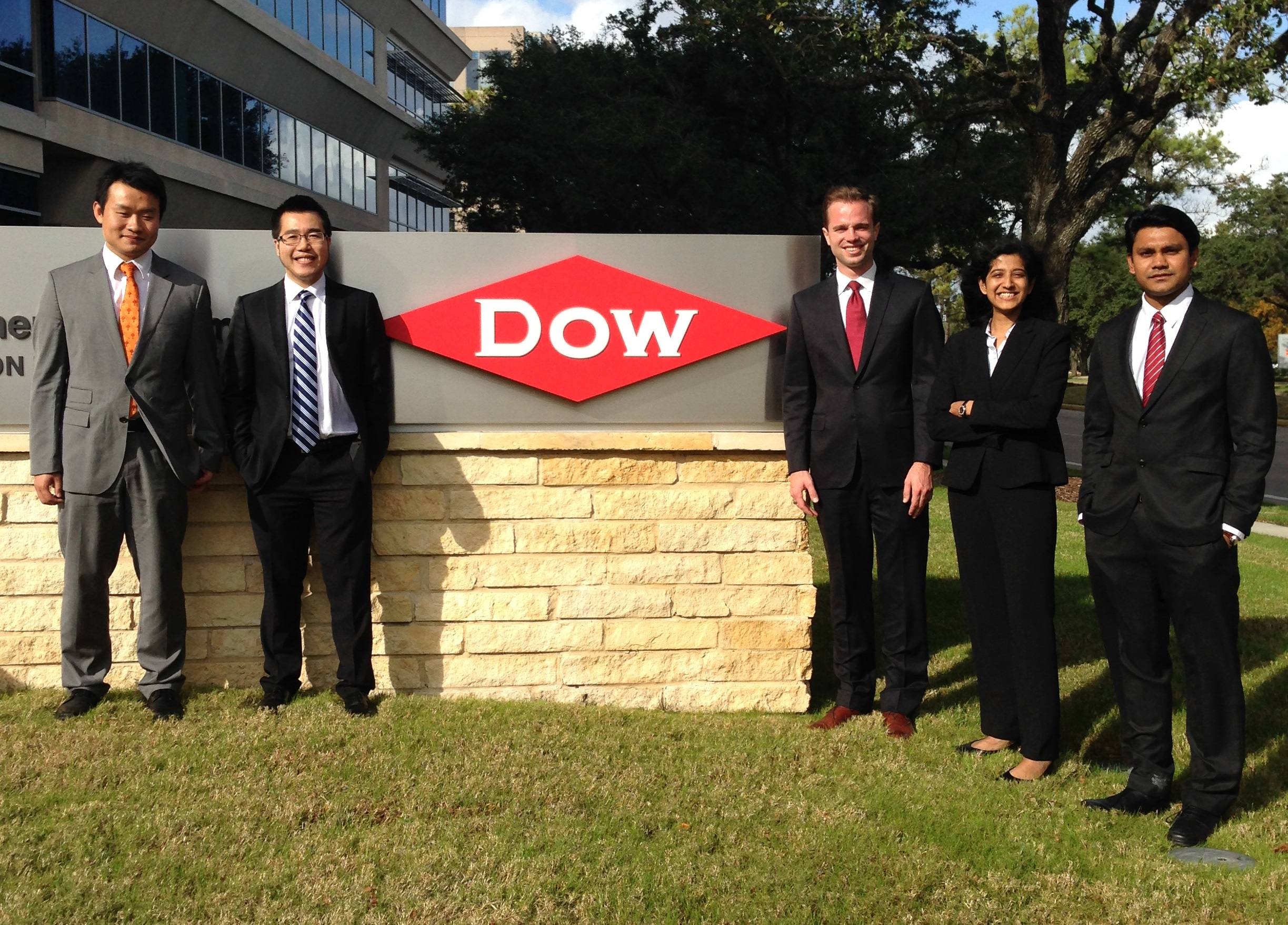 Dow - Texas MBA Students