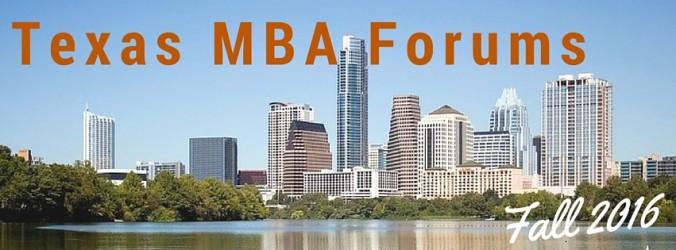 Texas MBA Forums-1