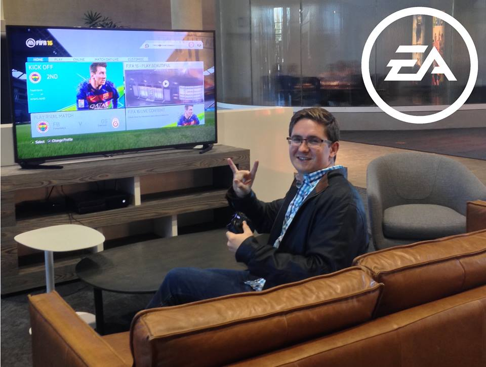Texas Full-Time MBA Taylor O'Brien Interning at EA (Electronic Arts)